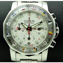 Admiral's Cup Chronograph Stainless Steel, full set