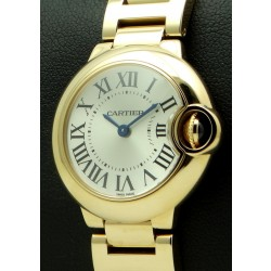 Ballon Blue Lady, 18 kt rose gold, 28 mm