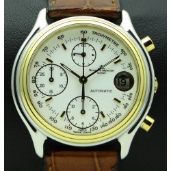 Chronograph Baumatic, Steel and Gold, ref. 6103
