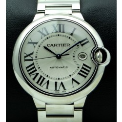 Ballon Bleu 42 mm, 18Kt White Gold, full set