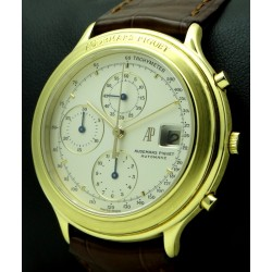 Chronograph Huitieme 18k yellow gold