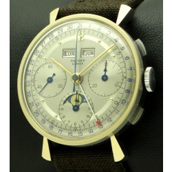 Vintage Chronograph Triple Date Steel/Rose Gold, from Fifties