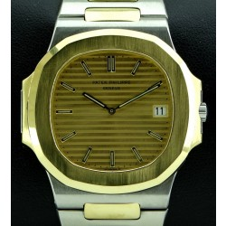 Nautilus Jumbo Vintage Steel and Gold, ref 3700, from 1981