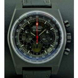El Primero 40th Anniversary Black Titanium Limited Edition 250 pcs, full set