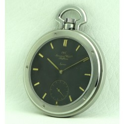 Ingenieur SL Pocket Watch Stainless Steel Black Dial, made 1980's