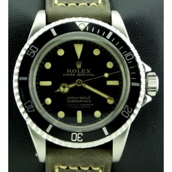 Submariner ref.5512, 4 lines dial, from 1965