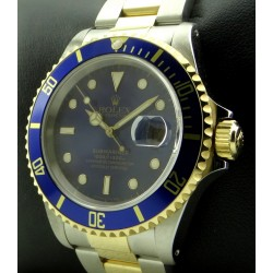 Submariner Steel and Gold Blue Bezel and Dial, ref. 16613, from 1990