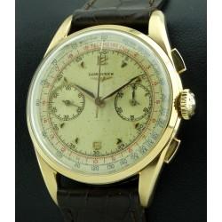 Vintage Chronograph 18kt rose gold, caliber 30CH