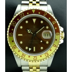 GMT Master II,Steel and Gold, ref.16713, Tiger Eye Dial, from 1989