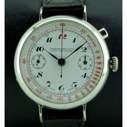 Silver Chronograph Monopoussoir, from '40
