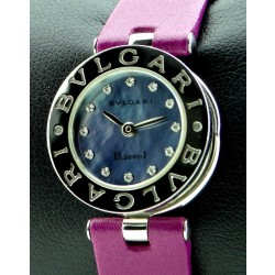 Bzero1 Stainless Steel, Mother of Pearl Dial with Diamonds