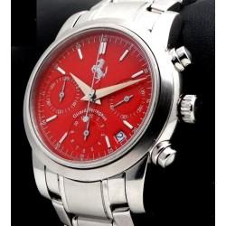 Ferrari Chronograph, ref.8020, Red Dial