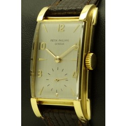 Rectangular Vintage 18 KT Yellow Gold, from 1951, REF. 2417