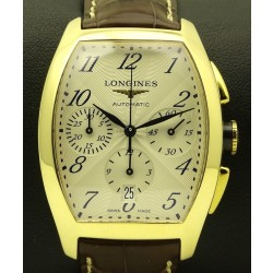 Evidenza Chronograph, 18 kt yellow gold, full set