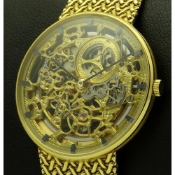 Skeleton dial yellow gold, ref.B19697