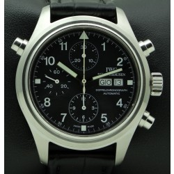 Doppelchronograph, stainless steel, ref.3713