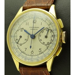 18 kt Vintage Chronograph, from forties