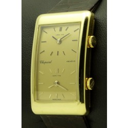 Vintage Dual Time Zone, 18 kt yellow gold