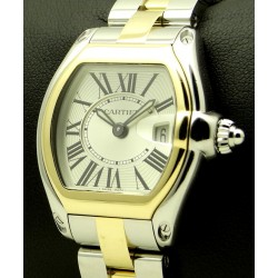 Roadster Lady, steel and gold, ref. 2675, full set