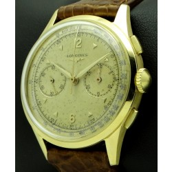 Vintage Chronograph 18 Kt yellow gold, mov. CH30