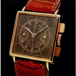 Chronograph 18k Pink Gold Case,  made in the 1950's