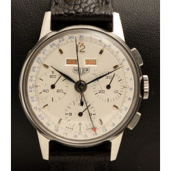 Chronograph Triple Date in Steel, made in the 1950's