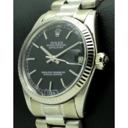 Datejust 31mm, 18 kt white gold,ref. 6827.made in 1977