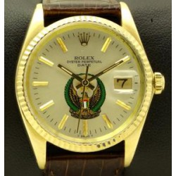 Date Vintage, 18 kt yellow gold,United Arab Emirates Dial