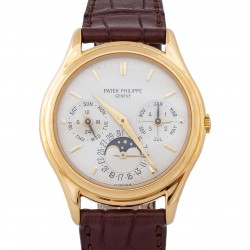 Perpetual Calendar 18 kt Yellow Gold, ref.3940, full set