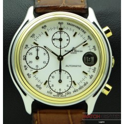 Chronograph Baumatic, Steel and Gold