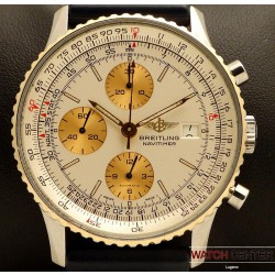 OLD NAVITIMER CHRONOGRAPH STEEL/GOLD