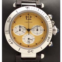 Pasha 38 mm Chronograph Stainless Steel