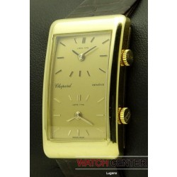 Dual Time Zone, 18 kt yellow gold