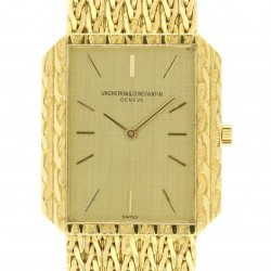 Lady 18kt Yellow gold wristwatch from 90s