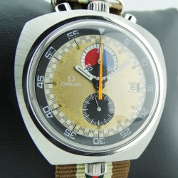 Seamaster so-called Bullhead Chronograph, Ref. ST146.011, Made 1970, extremely rare, with Certificate