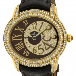Millenary Precious Diamond-Set 18K Yellow gold, full set