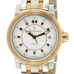 Patravi Date Lady, Steel and 18kt rose gold