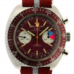 Vintage Chrono, in stainless steel