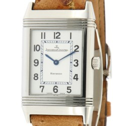 Reverso Classic, Stainless steel, manual winding