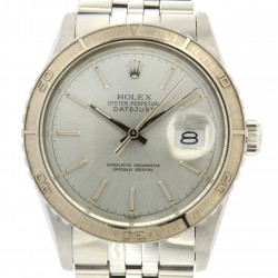 Datejust Turn-o-Graph, Steel and white gold bezel ref. 16250, full set