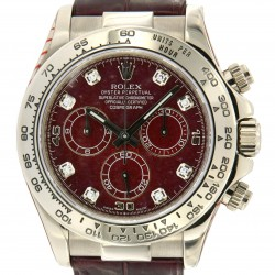 116519 Rubelite/Grossular dial, with Service Rolex 2017 and box