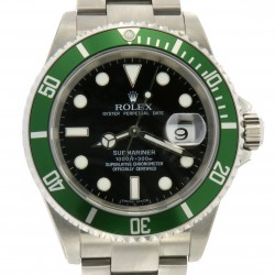 Submariner Green Bezel, ref. 16610, NOS, Full set