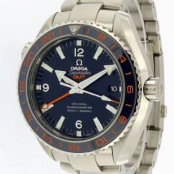 Seamaster Planet Ocean 600m GMT, stainless steel, Full Set