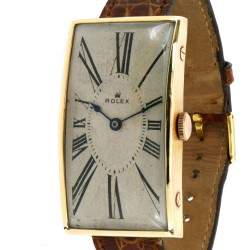 An extremely rare, Oversize 18k Rose Gold made in 1915 with Expertise