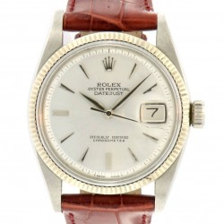 Vintage Datejust ref.6605, Steel and White Gold bezel