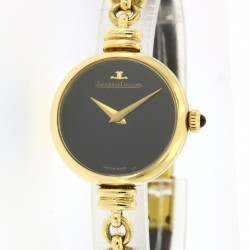 Lady Vintage 18kt yellow gold and onyx, ref. 9208 21