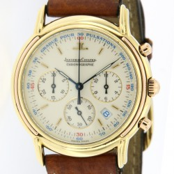 Odysseus Chronograph Quartz, 18kt yellow and rose gold, Ref. 165.7.3