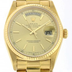 Day-Date 18 kt yellow gold, ref. 18038