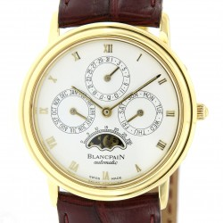 Perpetual Calendar Moon-phase, ref.5395, 18K Yellow Gold from 90s