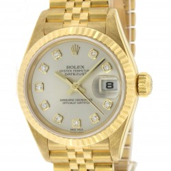 Lady's Datejust, 18kt yellow Gold and Diamonds, from 2001